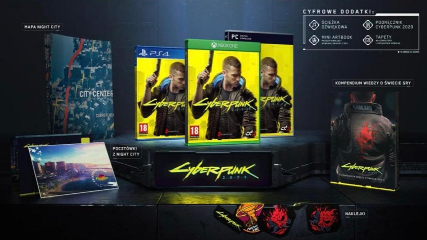 Wyciekła bogata standardowa edycja Cyberpunk 2077