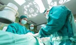 Podczas operacji pacjenta pojawił się pożar