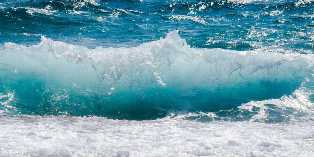 Ocean tonie w płaszczu ziemi