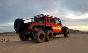 Jeep Wrangler Rubicon z silnikiem Dodge i napędem 6×6
