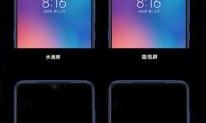 Xiaomi odpowiada Oppo na aparat pod ekranem