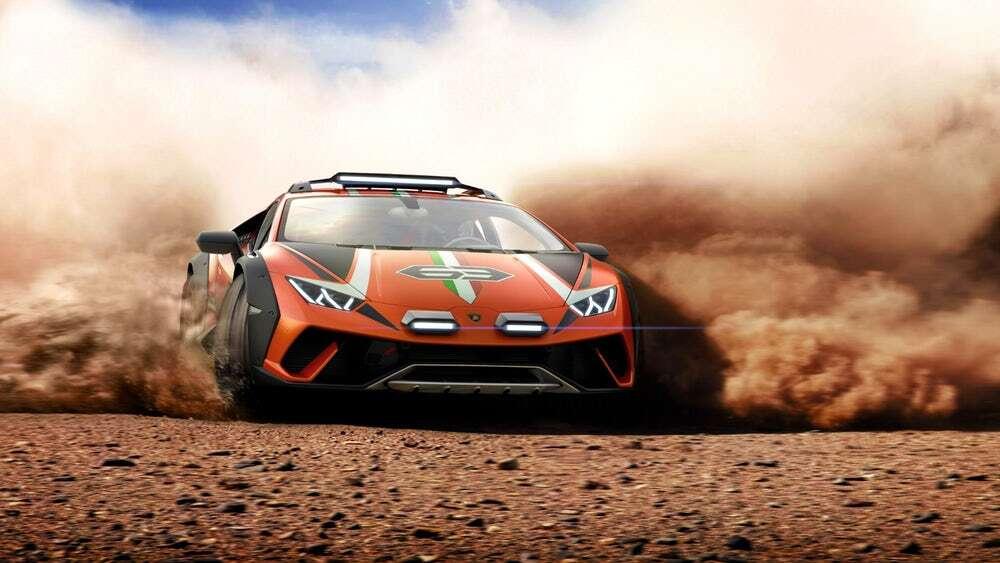 Lamborghini Huracan Sterrato podbija trudny teren