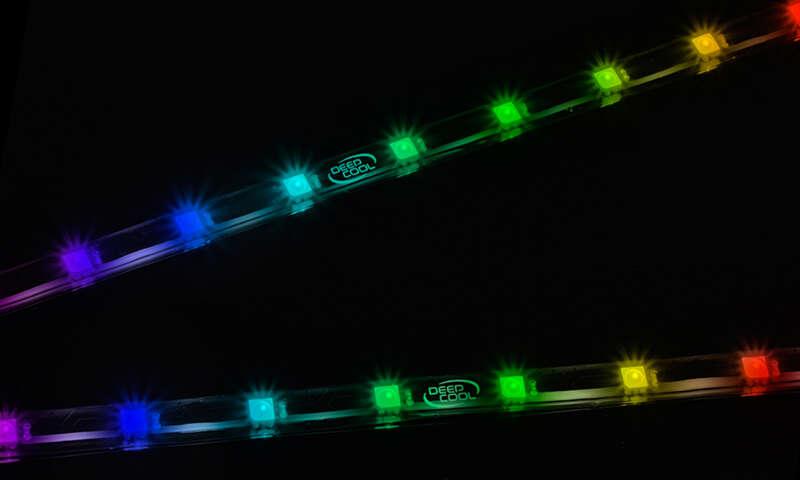 test Deepcool RGB 200 PRO, recenzja Deepcool RGB 200 PRO, review Deepcool RGB 200 PRO, opinia Deepcool RGB 200 PRO, czy warto Deepcool RGB 200 PRO, cena Deepcool RGB 200 PRO, specyfikacja Deepcool RGB 200 PRO, wygląd Deepcool RGB 200 PRO, paski LED, deepcool paski LED,