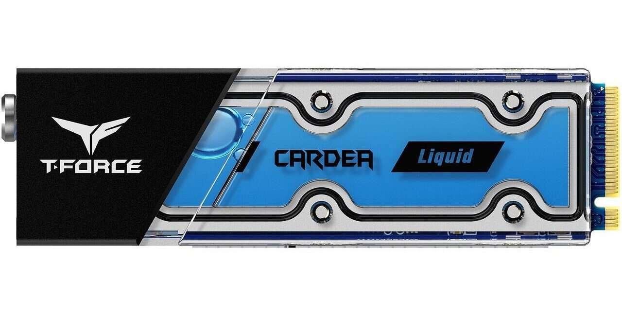 Pierwszy na świecie SSD na M.2 chłodzony wodą