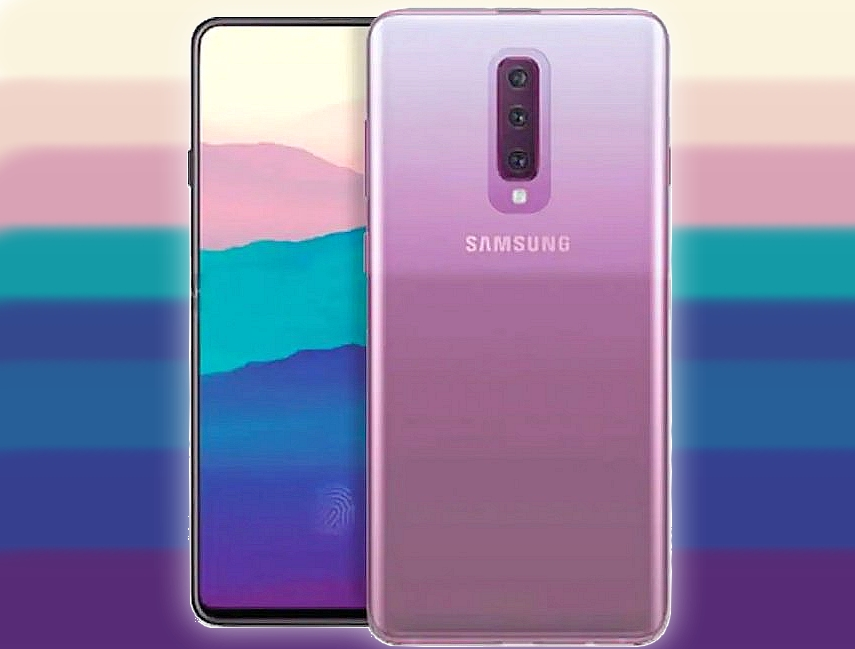 Galaxy A90, render Galaxy A90, rendery Galaxy A90, samsung Galaxy A90, specyfikacja Galaxy A90, wygląd Galaxy A90, design Galaxy A90, aparat Galaxy A90