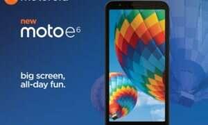 Oficjalna premiera Moto E6