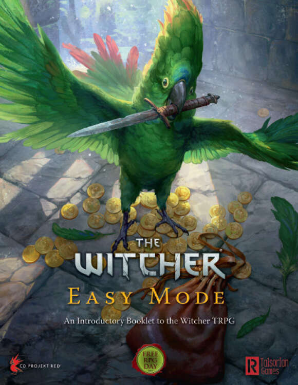 RPG Wiedźmin doczekało się darmowego wydania Easy Mode