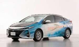 Elektryczne samochody Toyoty z panelami słonecznymi doczekają się testów