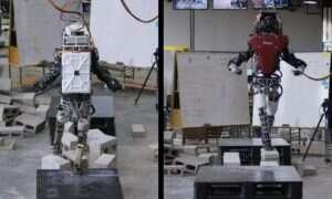 Humanoidalny robot stawił czoła betonowym przeszkodom