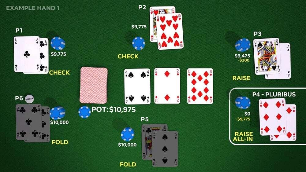 System SI Pluribus jest tak dobry w pokera