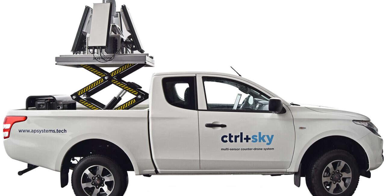 ctrl+sky, system ctrl+sky, bliski wschód, APS, drony, antydronowy, system antydronowy, drony ctrl+sky,