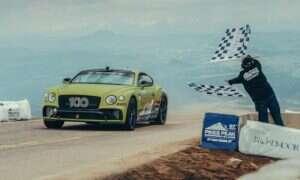 Bentley Continental GT podbił rekord na Pikes Peak
