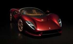 Supersamochód De Tomaso P72 spełnia obietnice powrotu marki z  hukiem