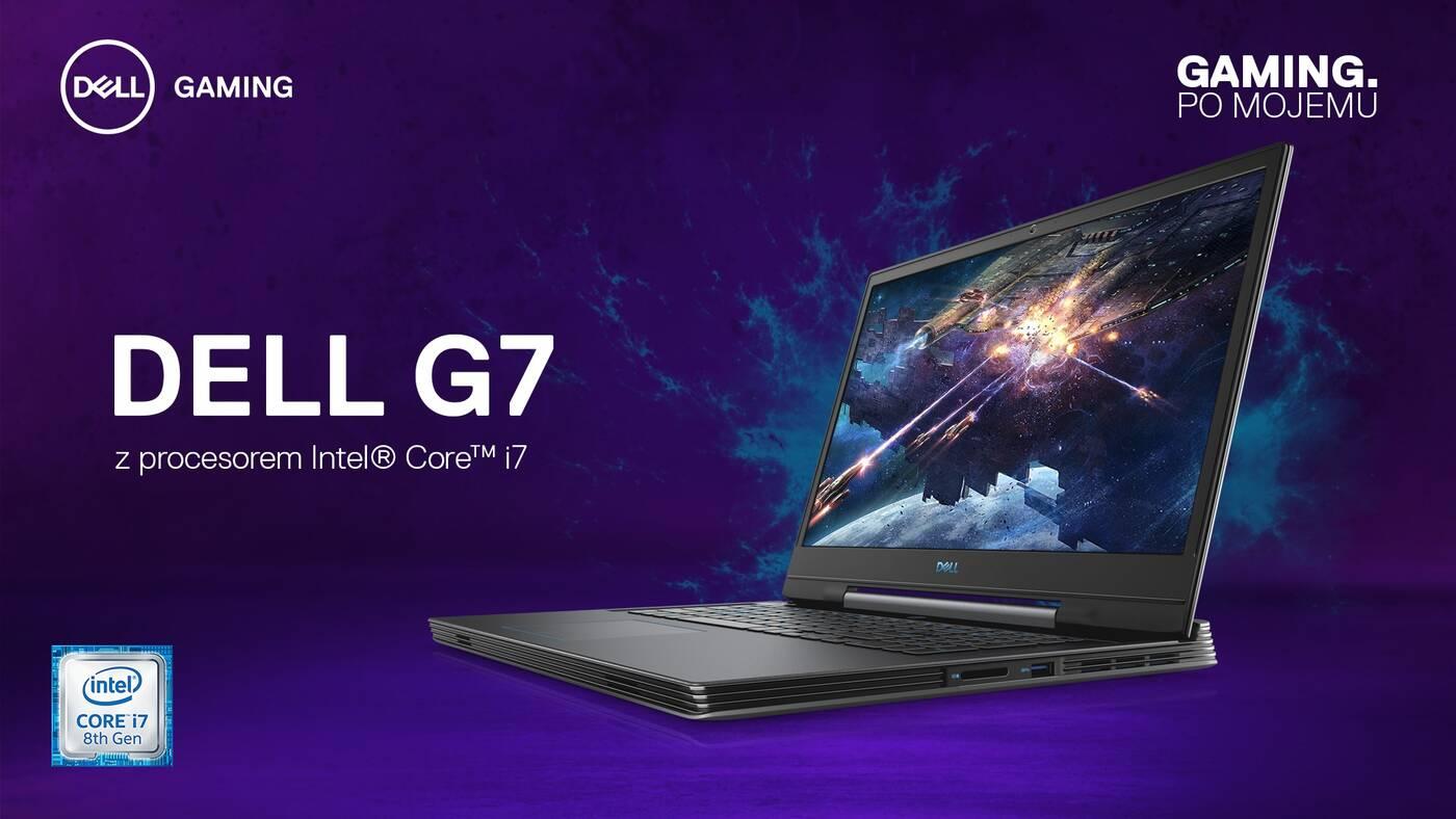 Dell, laptopy dla graczy Dell, gaming Dell, Dell G3, Dell G5, Dell G7, cena Dell G3, cena Dell G5, cena Dell G7,