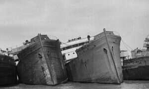 Cmentarzysko statków w Maryland uznane za zabytkowe