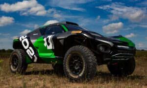 Oto Odyssey 21 elektryczny SUV od Formuła E do serii wyścigów Extreme E