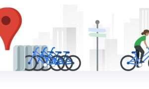 Mapy Google wyświetlą informacje o rowerach miejskich w Warszawie