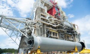 NASA rozpoczyna kompleksowy test rdzenia boostera SLS