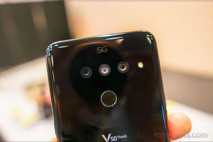 LG rejestruje serie smartfonów M10, V60 i V70