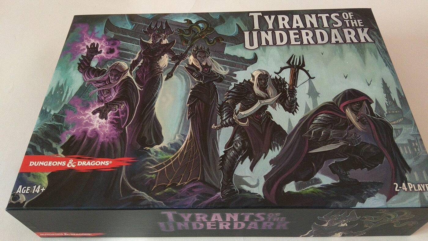 Tyrants of Underdark pudło