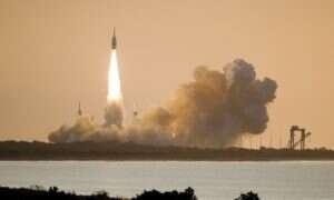 NASA przetestowała system ewakuacji LAS dla swojej ogromnej rakiety