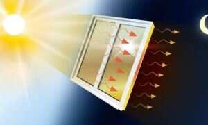 Powłoka okienna MOST chłodzi wnętrze za dnia, aby ocieplić je nocą