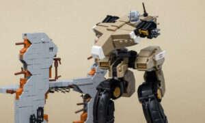 Niesamowite dioramy z LEGO odtwarzają sceny z gier