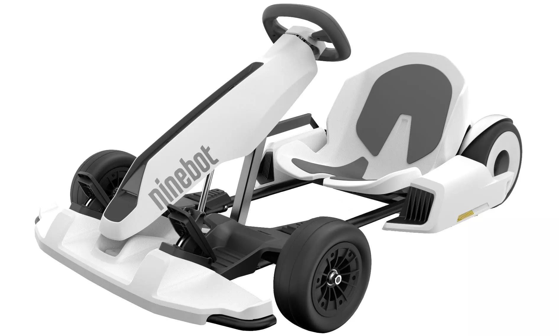 Ninebot S jako gokart elektryczny