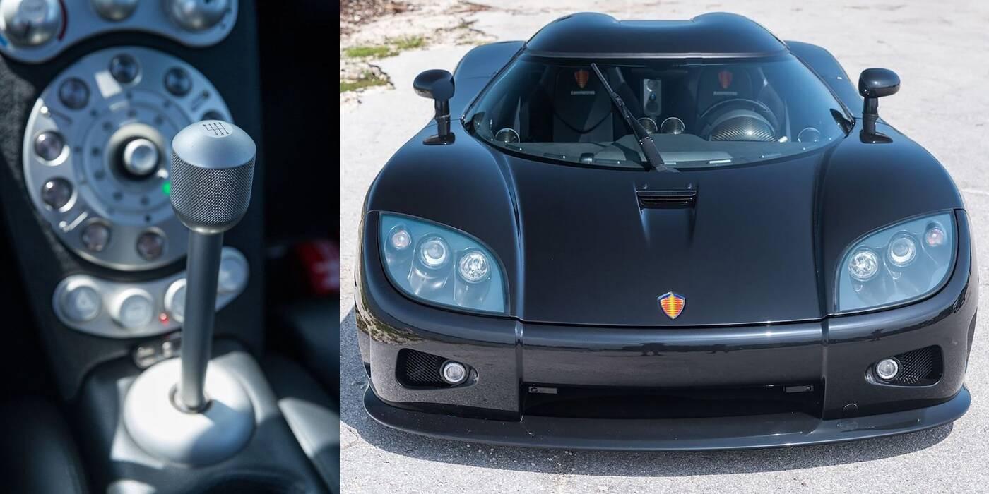 Ostatni Koenigsegg z manualną skrzynią biegów na sprzedaż