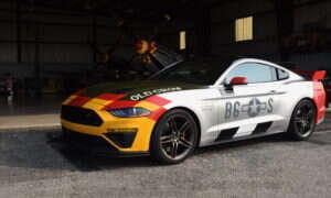 Oto Mustang wzorowany na legendarnym myśliwcu z II WŚ