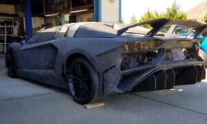 My sobie siedzimy, a ktoś drukuje Lamborghini Aventador S w 3D