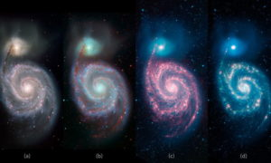 Obserwacja galaktyk w podczerwieni jest ważna, co potwierdza galaktyka Whirlpool