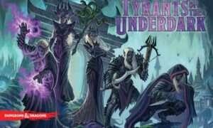 Recenzja gry planszowej Tyrants of Underdark