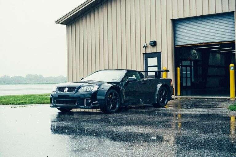 Platforma testowa Corvette C8
