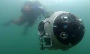 UX-1 wkrótce zbada podwodne opuszczone kopalnie