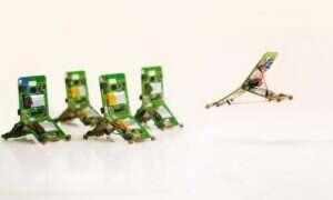 Proste roboty Tribots działają jak Zergi… albo mrówki