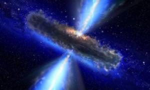 Największe czarne dziury powstały zadziwiająco szybko