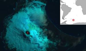 Jezioro wypełnione lawą zostało znalezione na Antarktydzie