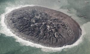 Pakistańska wyspa powstała podczas trzęsienia ziemi zniknęła