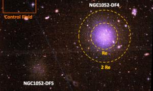 Czy te odległe galaktyki faktycznie są pozbawione ciemnej materii?