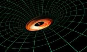 """Teleskop Hubble'a dostrzegł """"niemożliwą"""" strukturę wokół czarnej dziury"""