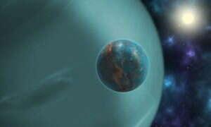 Astronomowie zauważyli księżyc formujący się wokół proto-Jowisza