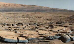 Jezioro w kraterze Gale'a na Marsie mogło dawniej zawierać życie