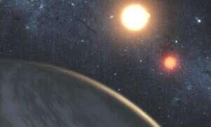 Naukowcy zauważyli powstawanie gazowego giganta