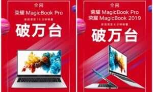 Honor MagicBook sprzedaje się całkiem nieźle