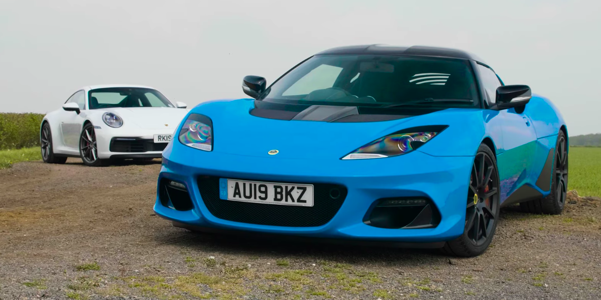 A gdyby tak porównać nowe Porsche 911 z Lotus Evora GT410?