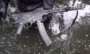 Niemiecki karabin Sturmgewehr 44 znaleziony po 75 latach