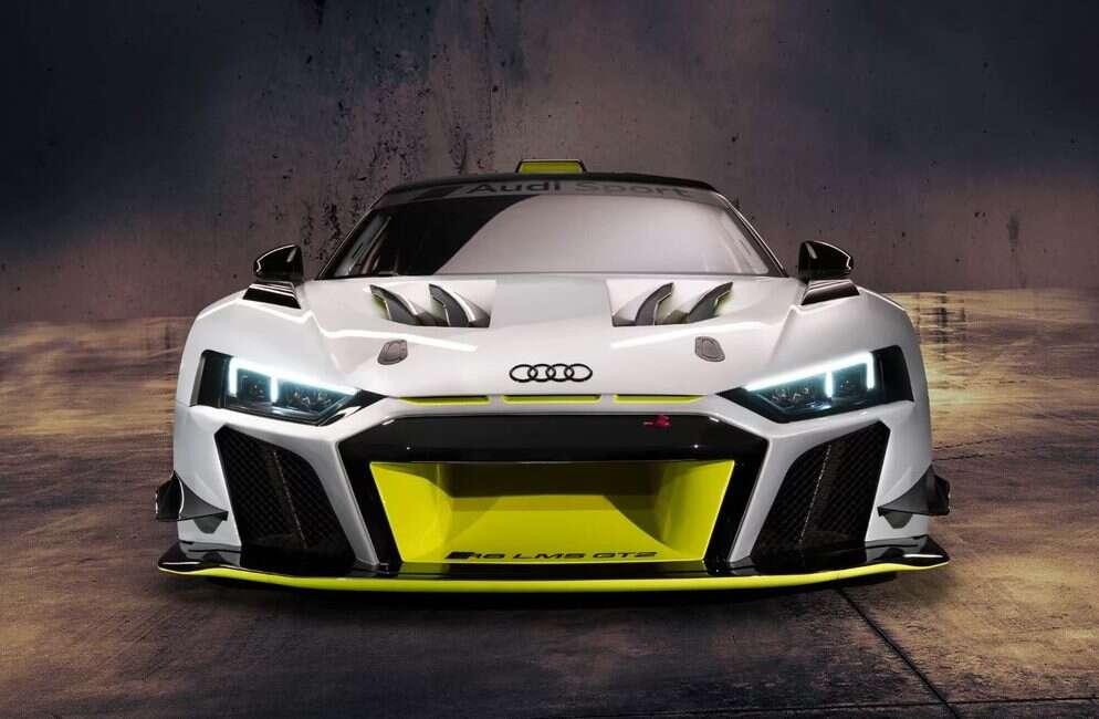 Audi R8 LMS GT2 - wyścigowe, ale konsumenckie cudo