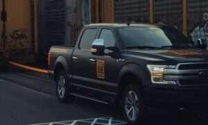 Elektryczny pickup F-150 Forda przeciągnął prawie 500 ton