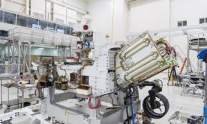 NASA rozpoczęło tankowanie baterii jądrowej łazika Mars 2020